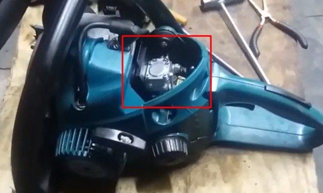 Бензопила макита dcs4610 регулировка карбюратора видео