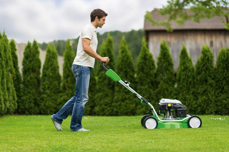 Как выбрать лучшую механическую газонокосилку: виды, принцип работы, обзор 7 популярных моделей, их плюсы и минусы