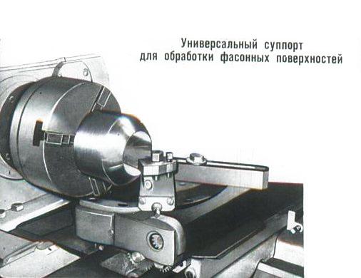 Технология обработки фасонных поверхностей