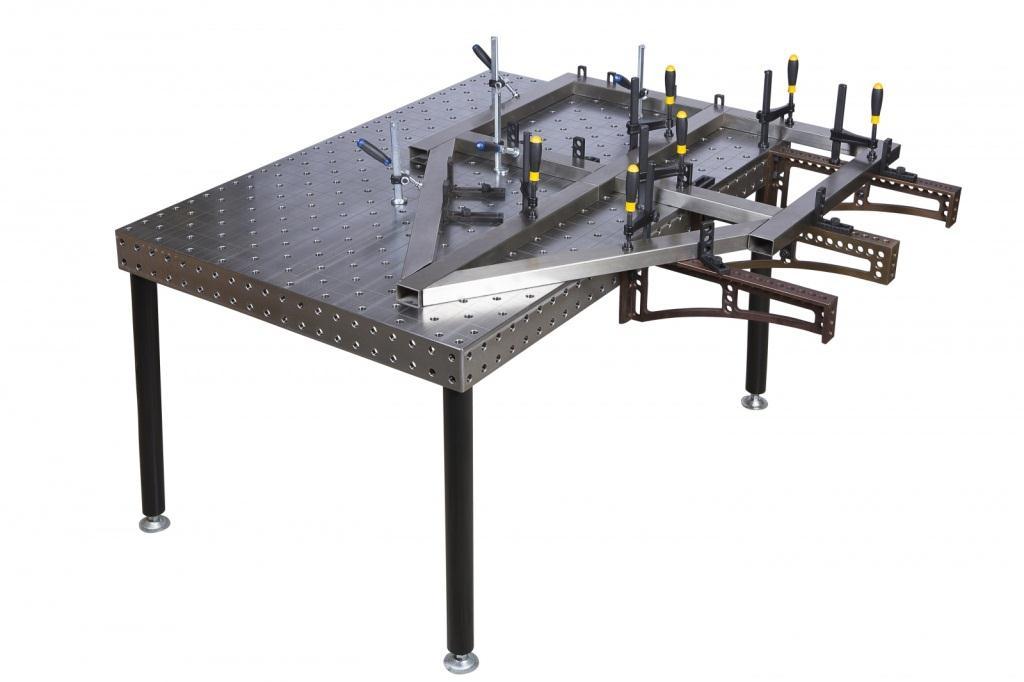 Сварочный стол: чертеж с размерами и пошаговая инструкция по изготовлению своими руками, видео-уроки