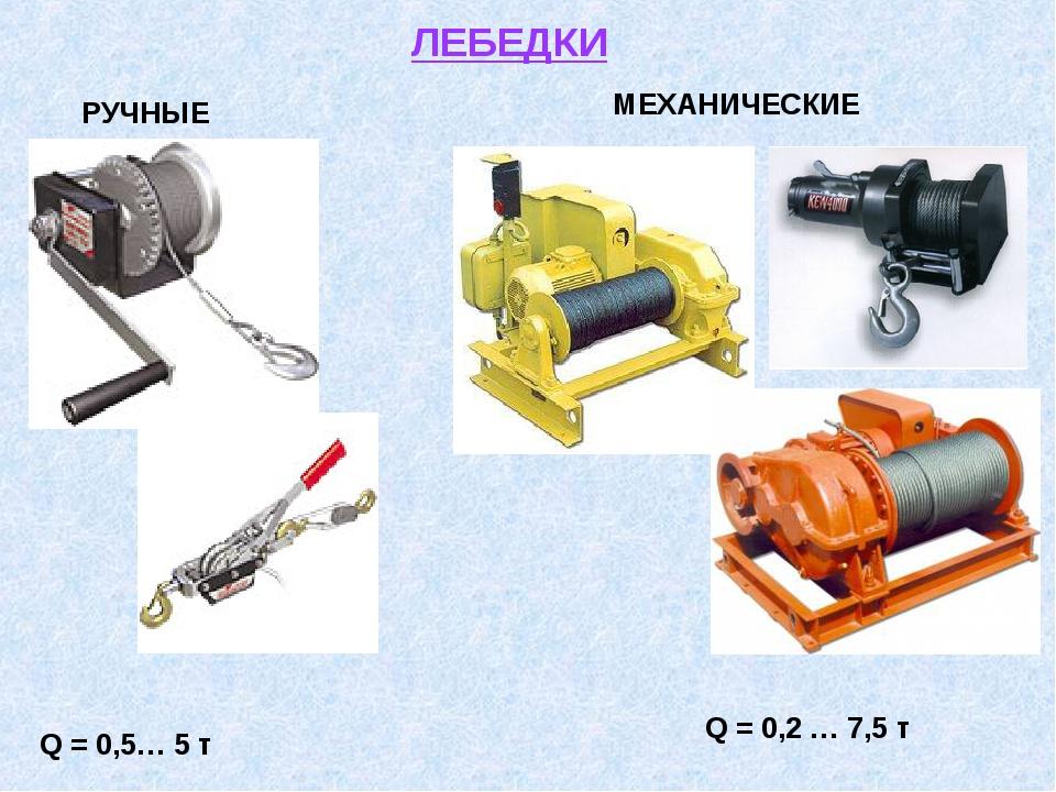 Ручная лебёдка механического типа: виды, конструкция, достоинства и недостатки