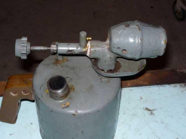 Паяльная лампа бензиновая. устройство и ремонт - техника