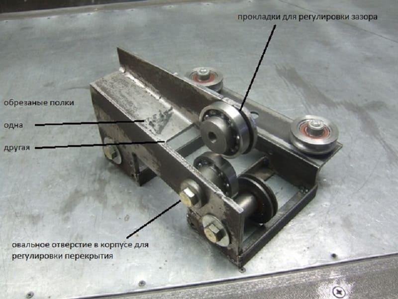 Резка листового металла дисковыми ножницами