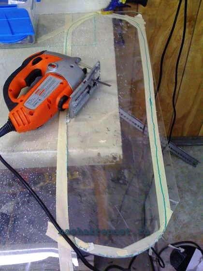 Как и чем резать оргстекло в домашних условиях