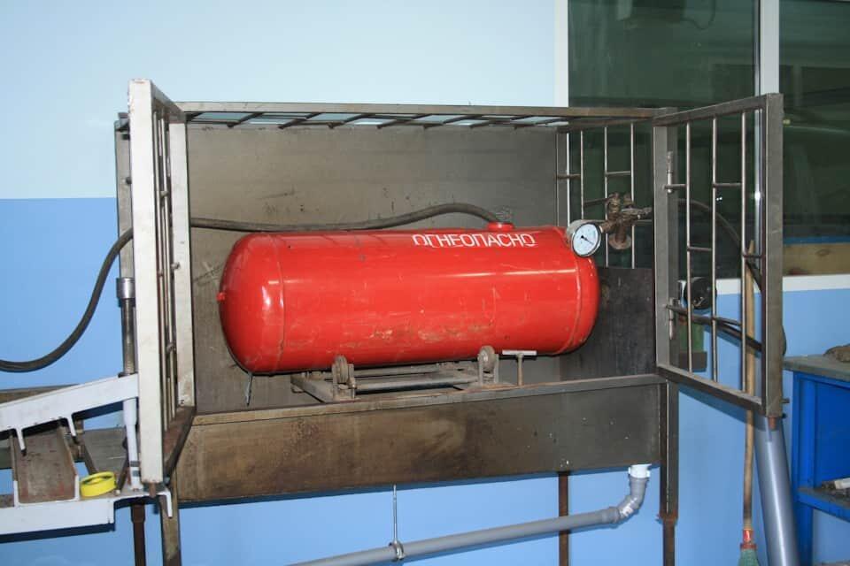 Испытания газовых баллонов: сроки и периодичность проведения освидетельствования
