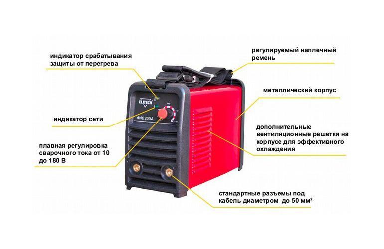 Электрические схемы сварочных инверторов