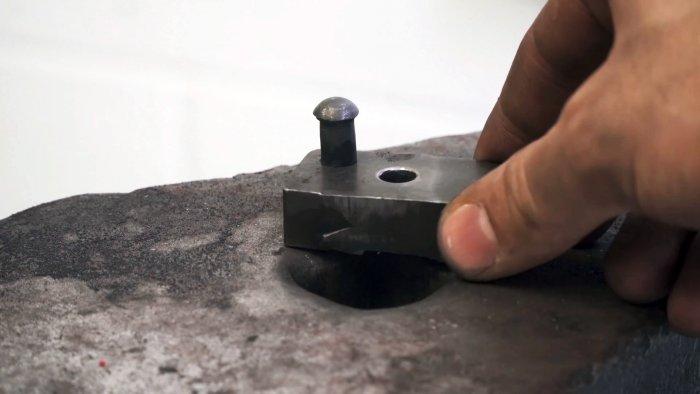 Как снять заклепку инструмент, видео, фото