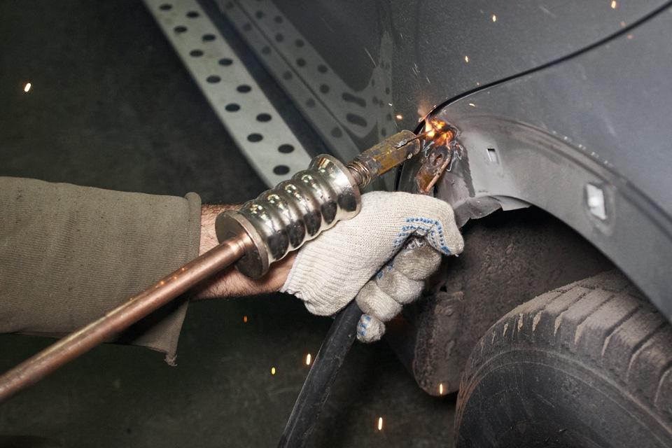 Споттеры своими руками: разновидности инструмента для рихтовки, как изготовить из инвертора-полуавтомата