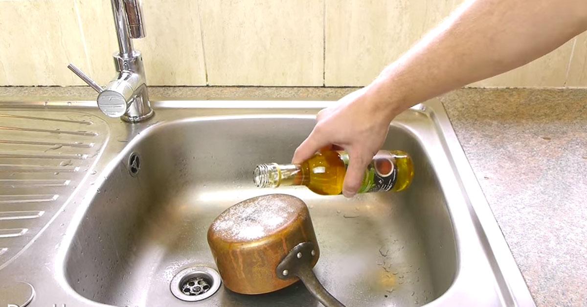 Средство для чистки сантехники из латуни