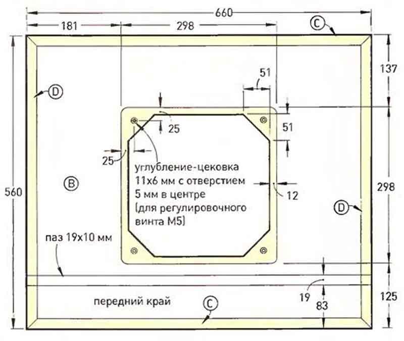 Изготовление фрезерного стола своими руками: чертежи, видео и фото