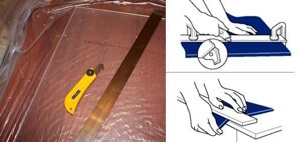 Резка оргстекла в домашних условиях: как и чем лучше отрезать материал и правила обработки ножом, электролобзиком