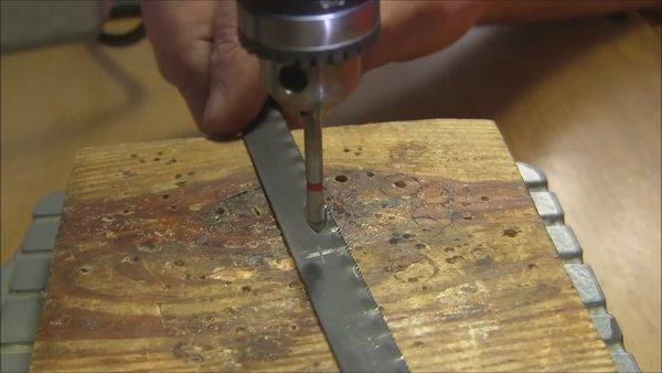 Просверлить каленый вал. как просверлить отверстие в металле. как просверлить твердую сталь. просверлить каленый металл