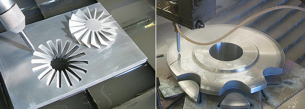 Резка металла водой: область применения
