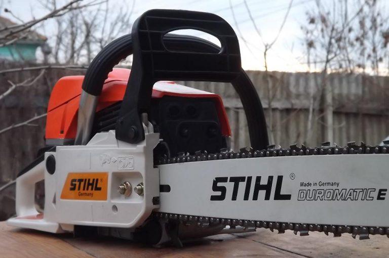 Stihl ms как отличить подделку - пилу, цепь и масло