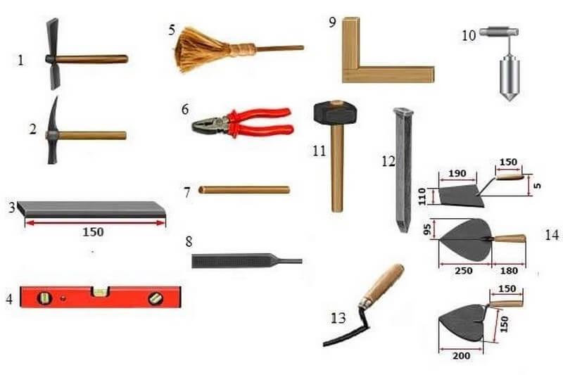 Инструмент для плиточных работ. составляем список - инструмент мастер