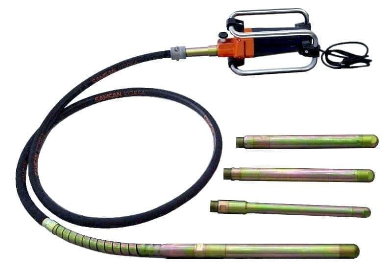 Бетонный вибратор глубинный: технические характеристики и отзывы