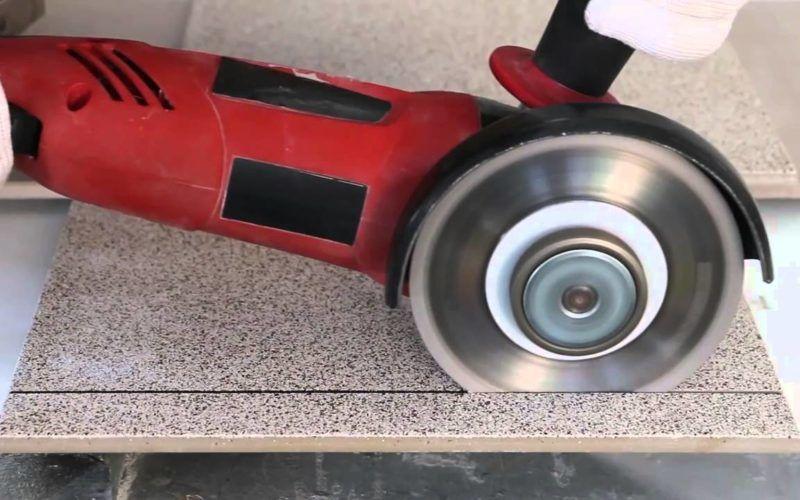 Как резать плитку болгаркой алмазным кругом аккуратно и без сколов