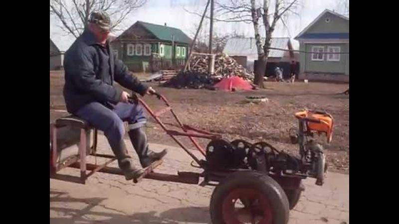 Самоделки из бензопилы