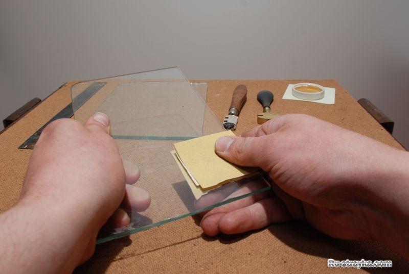 Как отрезать стекло без стеклореза?