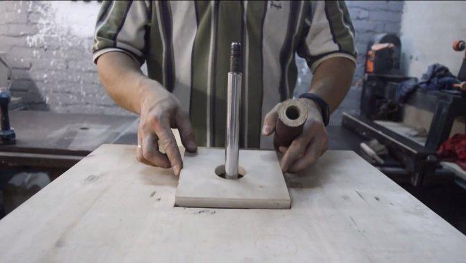 Осцилляционныйшпиндельный шлифовальный станок своими руками