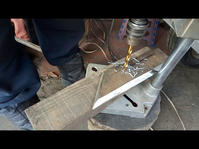 Как просверлить рессору в домашних условиях? - производство столярных изделий