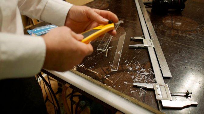 Как резать оргстекло своими руками в домашних условиях