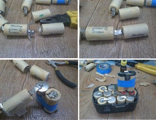 Как разрядить аккумулятор шуруповерта в домашних условиях