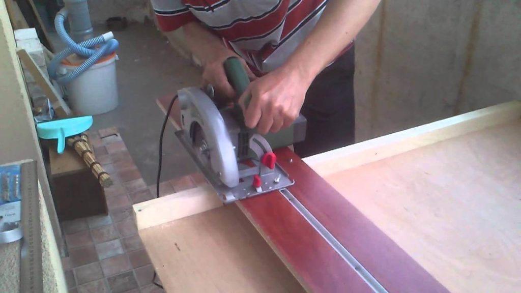 Инструкция по изготовлению: направляющая для циркулярной пилы