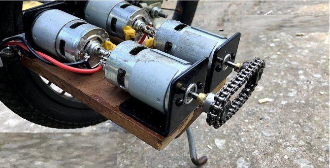 Электромотор для лодки своими руками из шуруповерта