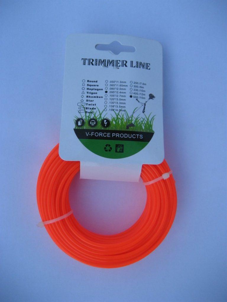 Какую леску лучше выбрать для триммера: материал, диаметр, длина, тип сечения