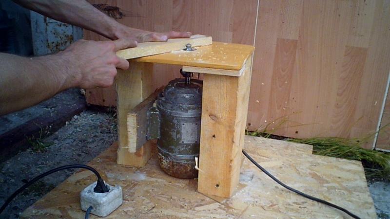 Технология самостоятельной сборки фрезера из дрели