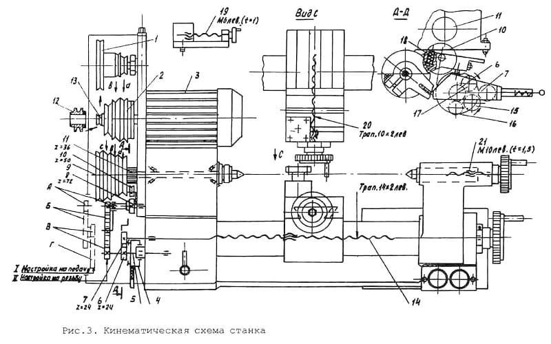 Токарный станок ТШ-3