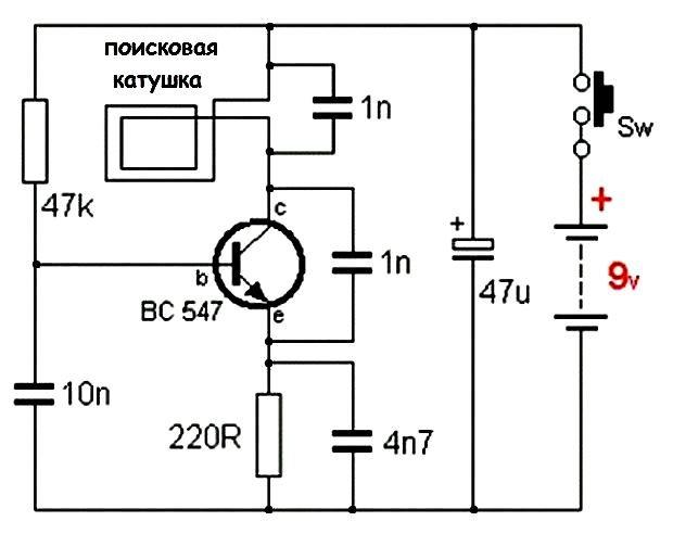 Металлоискатель своими руками - схемы и инструкции как сделать простой и мощный прибор (125 фото)