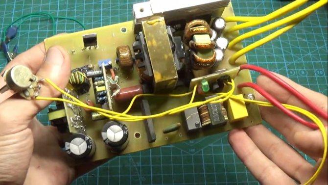 Ремонт зарядного устройства для шуруповёрта 18 вольт