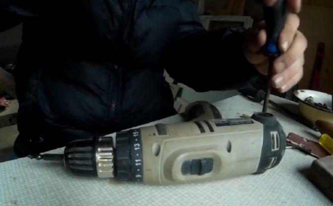 Как разобрать двигатель шуруповерта - морской флот