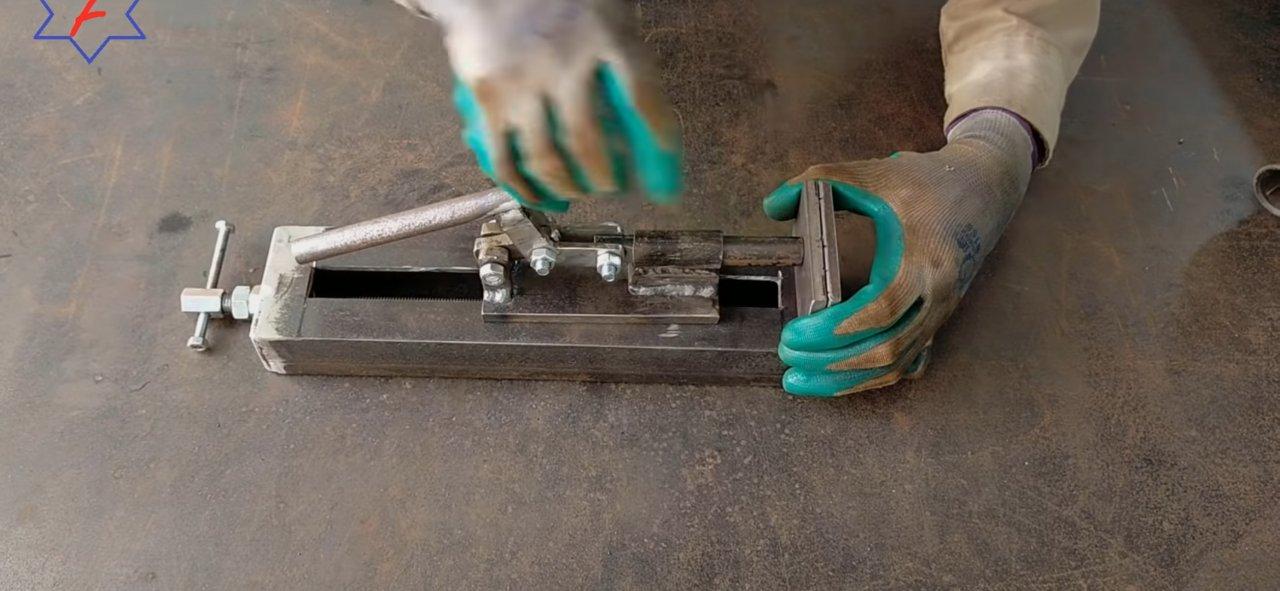 Тиски своими руками - пошаговая инструкция по изготовлению с фото описанием