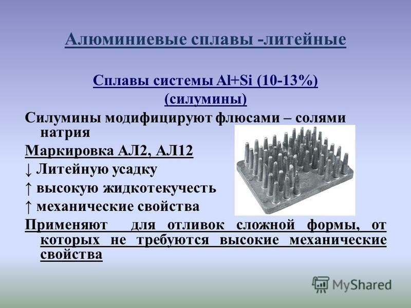 Выбор алюминиевых сплавов: металлургические факторы – aluminium-guide.com