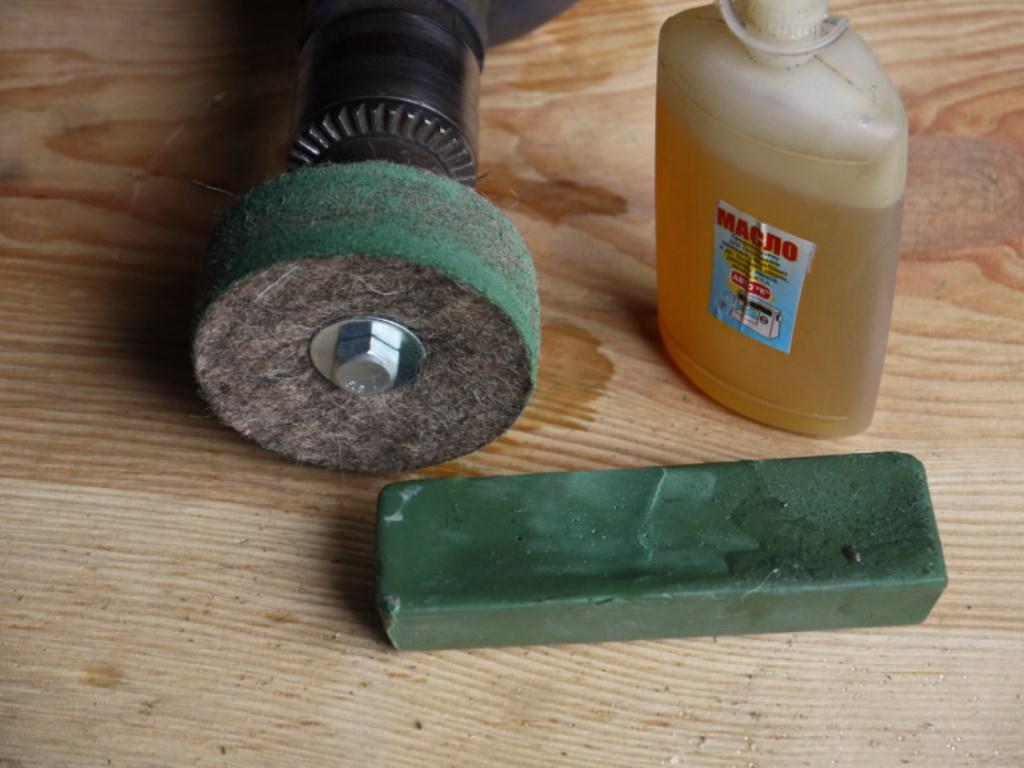 Абразивные полировальные пасты гои, 3m для металла, стекла и др.
