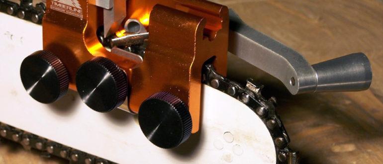 Станок для заточки цепей бензопил: выбираем и учимся пользоваться