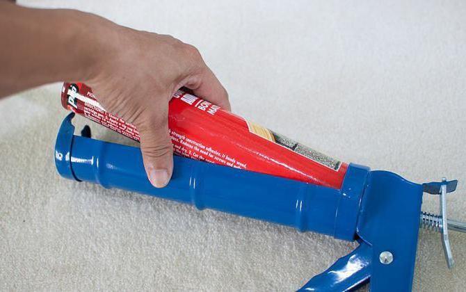 Пистолет для жидких гвоздей плюсы и минусы как выбрать и применять