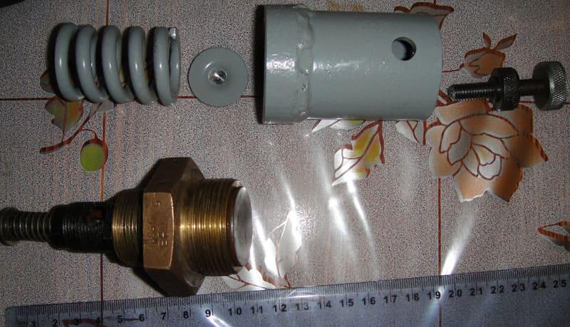 Обратный клапан для компрессора: принцип работы, разновидности