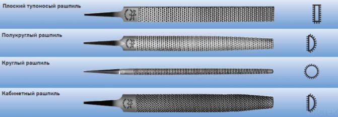 Алмазный надфиль: виды, предназначение. наборы надфилей с алмазным напылением