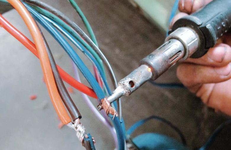 Пайка проводов без применения паяльника