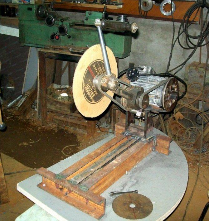 Отрезной станок из болгарки как сделать самому – мои инструменты