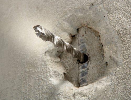 Как просверлить арматуру в бетоне перфоратором - moy-instrument.ru - обзор инструмента и техники