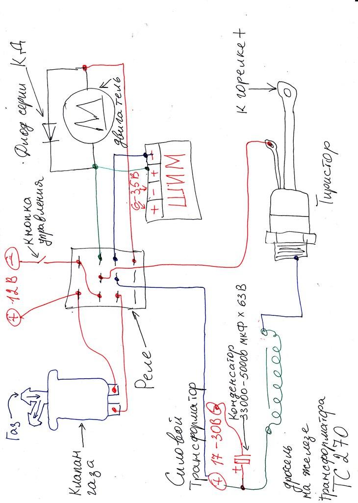 Полуавтомат из инвертора: как сделать своими руками? схема переделки, самодельные полуавтоматы из трансформаторных инверторных моделей