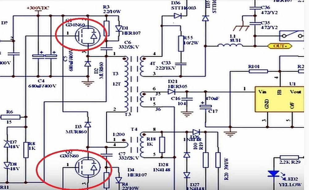 Схема сварочного инвертора для самостоятельного изготовления