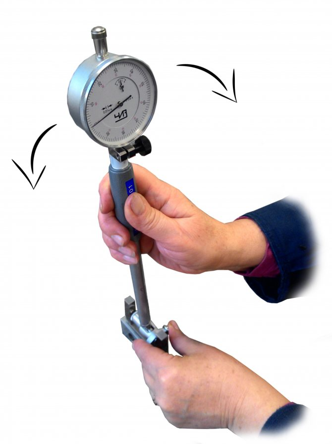 Как проводить измерения индикаторными нутромерами