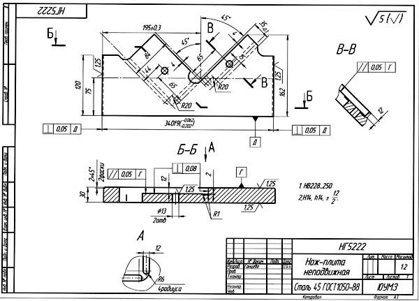 Комбинированные пресс-ножницы нв5222 — технические характеристики, паспорт