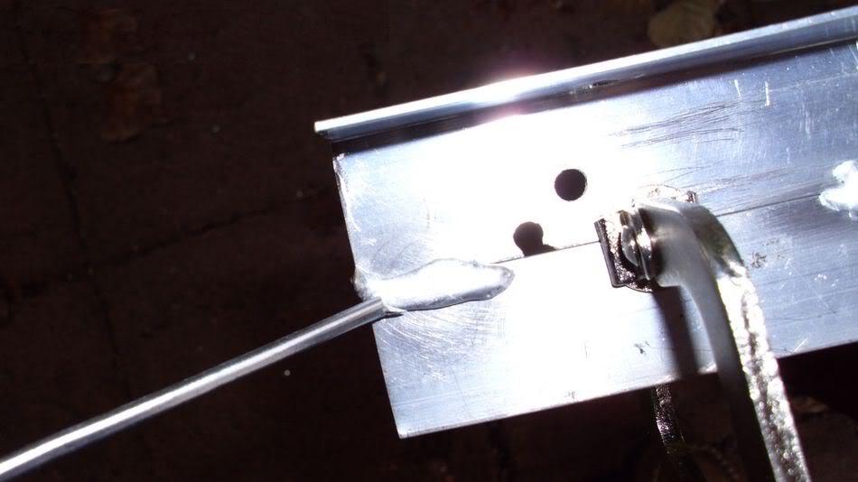 Пайка алюминия - флюс, припой, оборудование